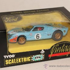 Scalextric: FORD GT SCALEXTRIC TYCO. . Lote 32826662