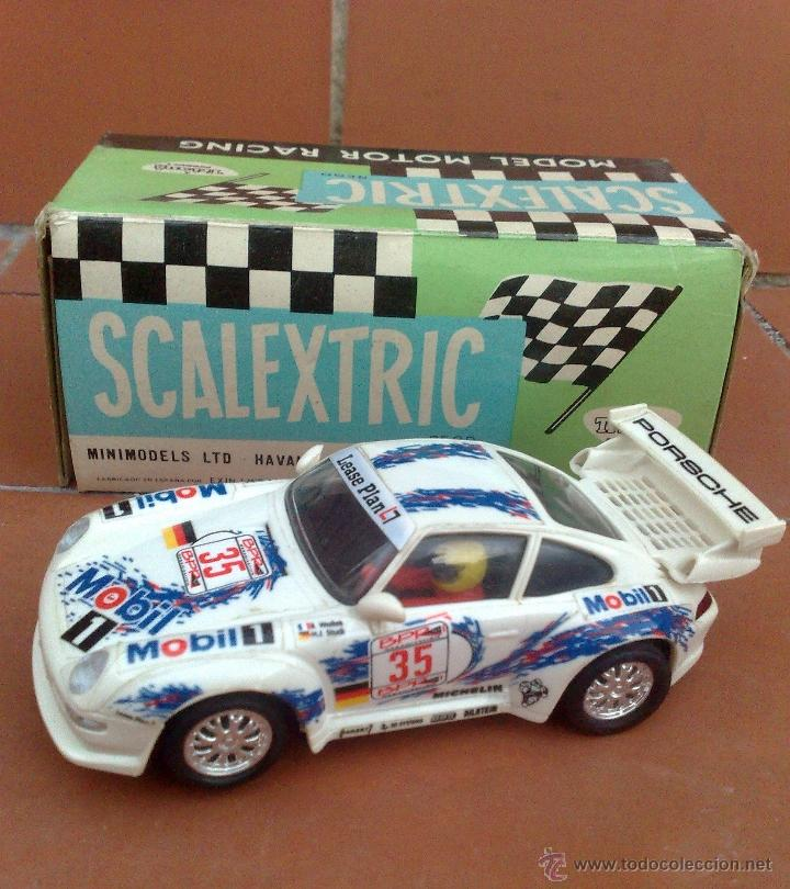 PORSCHE 911 SCALEXTRIC TYCO, COMO NUEVO (Juguetes - Slot Cars - Scalextric Tyco)