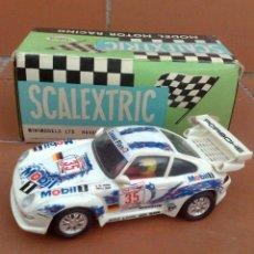 Scalextric: PORSCHE 911 SCALEXTRIC TYCO, COMO NUEVO . Lote 59641052
