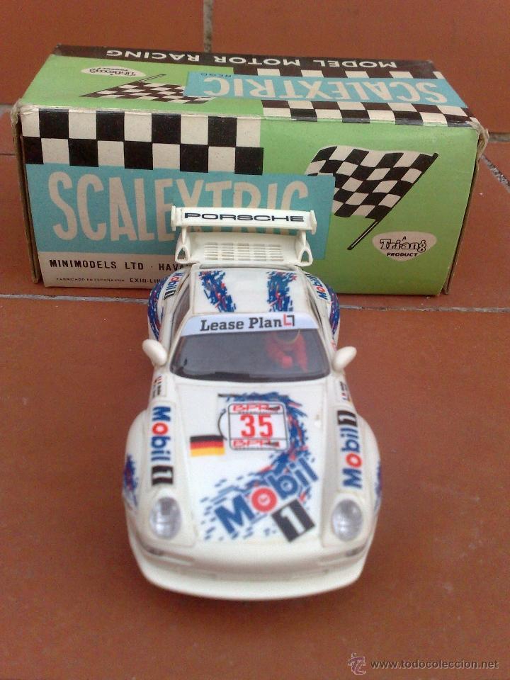 Scalextric: PORSCHE 911 SCALEXTRIC TYCO, COMO NUEVO - Foto 2 - 59641052