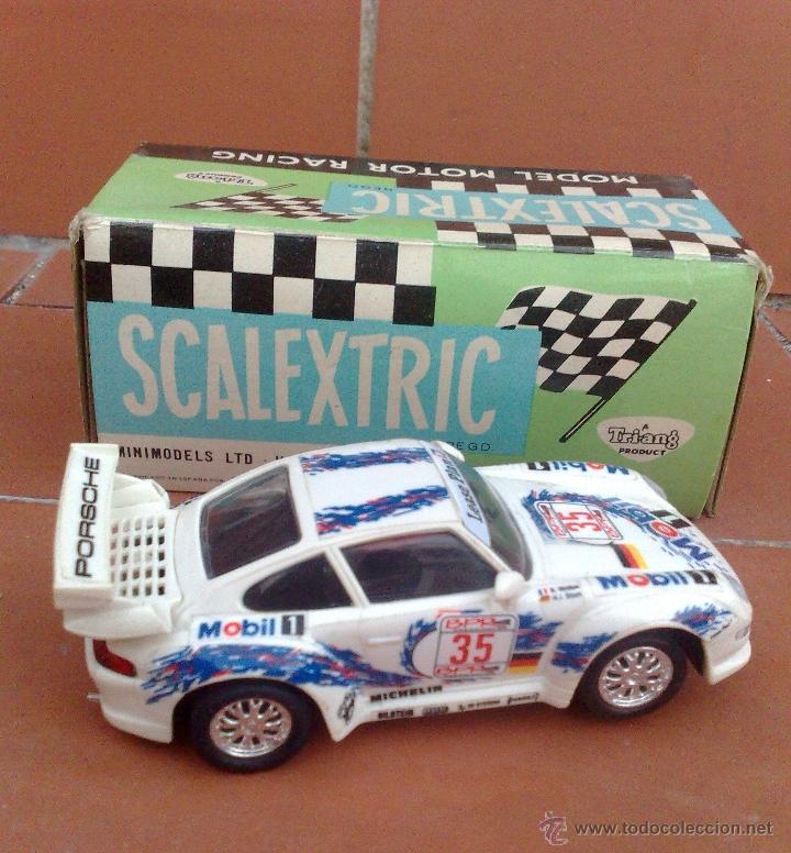 Scalextric: PORSCHE 911 SCALEXTRIC TYCO, COMO NUEVO - Foto 3 - 59641052