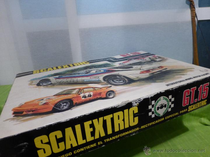 Scalextric: SCALEXTRIC GT.15 , TODO COMPLETO EXCEPTO LOS COCHES - Foto 2 - 46127120