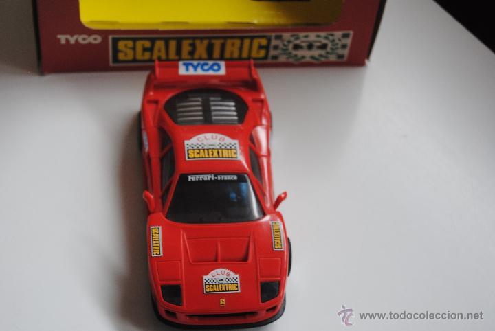 COCHE SCALEXTRIC FERRARI F 40 DEL CLUB SCALEXTRIC (Juguetes - Slot Cars - Scalextric Tyco)