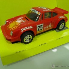 Scalextric: SLOT,SCX, SCALEXTRIC, TYCO, PORSCHE 911, SHELL, REF. 8359, 1996. Lote 50633747
