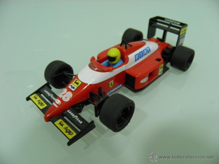 SLOT, SCX, SCALEXTRIC, FERRARI, F1/87, Nº 28, TYCO 8372-09 (Juguetes - Slot Cars - Scalextric Tyco)