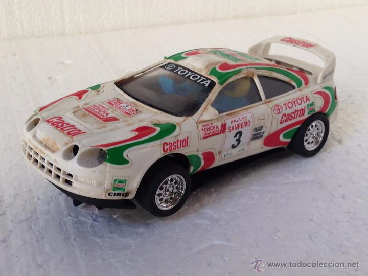 SCALEXTRIC TOYOTA CELICA CASTOL (Juguetes - Slot Cars - Scalextric Tyco)