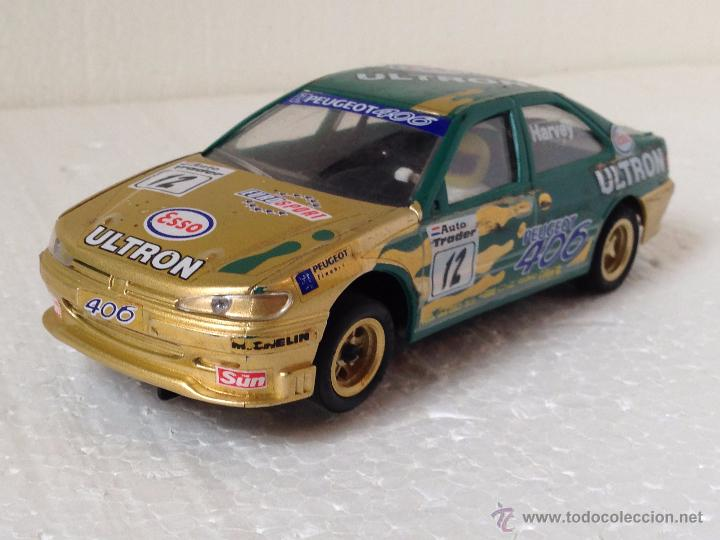 SCALEXTRIC PEUGEOT 406 HARVEY ULTRON (Juguetes - Slot Cars - Scalextric Tyco)