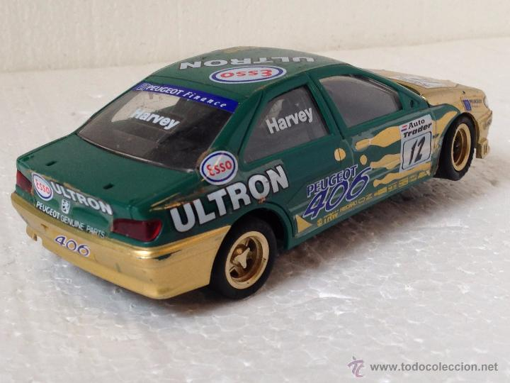 Scalextric: SCALEXTRIC PEUGEOT 406 HARVEY ULTRON - Foto 2 - 54492638