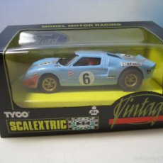 Scalextric: SCALEXTRIC FORD GT40 VINTAGE NO.8395.09 TYCO DEL AÑO 1994 NUEVO. Lote 82043026