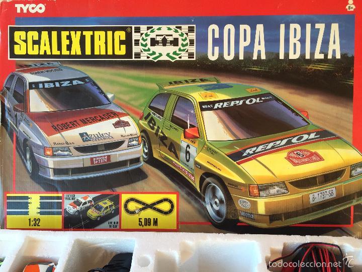 SCALEXTRIC EN CAJA TYCO CIRCUITO COPA IBIZA (Juguetes - Slot Cars - Scalextric Tyco)