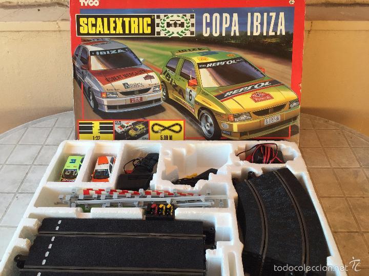 Scalextric: SCALEXTRIC EN CAJA TYCO CIRCUITO COPA IBIZA - Foto 3 - 220622328