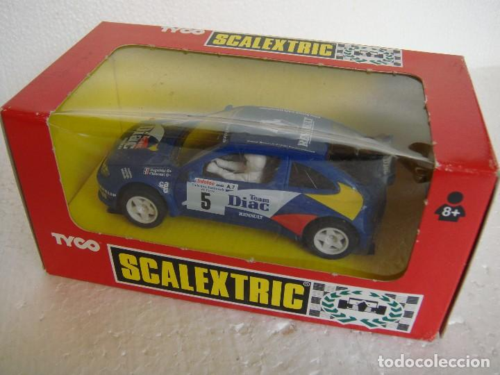 SCALEXTRIC RENAULT MEGANE DIAC REF. 8329.09 (Juguetes - Slot Cars - Scalextric Tyco)