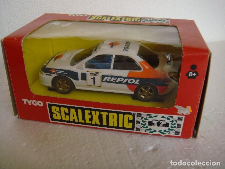 SCALEXTRIC SUBARU REPSOL 4X4 REF. 8376.09 (Juguetes - Slot Cars - Scalextric Tyco)