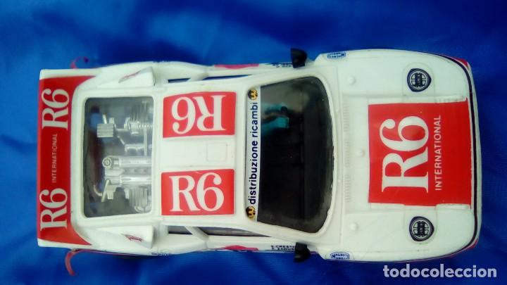 COCHE SCALEXTRIC RALLY 037 R6 INTERNATIONAL CRESTO ZANUSSI (Juguetes - Slot Cars - Scalextric Tyco)