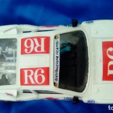 Scalextric: COCHE SCALEXTRIC RALLY 037 R6 INTERNATIONAL CRESTO ZANUSSI. Lote 77146381