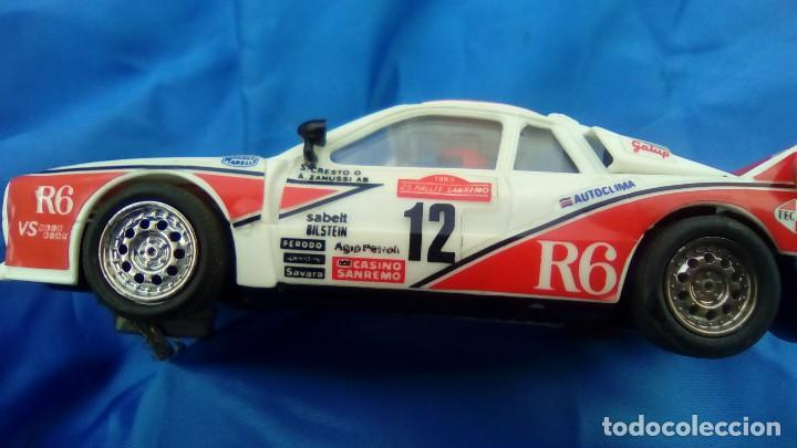 Scalextric: coche scalextric rally 037 R6 international cresto zanussi - Foto 2 - 77146381
