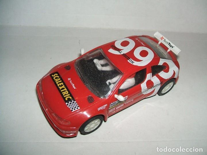 RENAULT MAXI MEGANE DEL CLUB SCALEXTRIC 1999 SIN CAJA (Juguetes - Slot Cars - Scalextric Tyco)