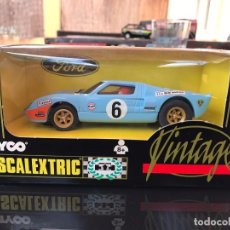Scalextric: FORD GT SCALEXTRIC VINTAGE. Lote 95728991