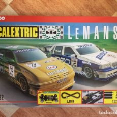 Scalextric: SCALEXTRIC TYCO LEMANS. AÑO 1997. INCLUYE VOLVO 850 Y PEUGEOT 406 ULTRON. Lote 97997443