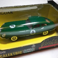 Scalextric: JAGUAR E VINTAGE SCALEXTRIC TYCO REF. 8371 . Lote 115130947