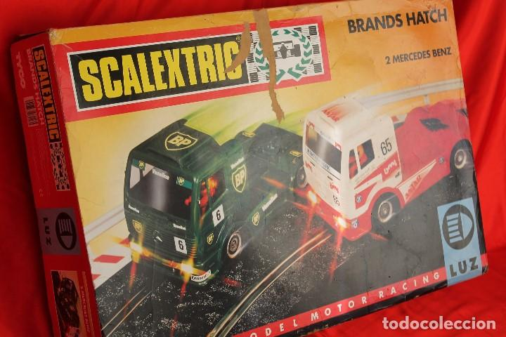 SCALEXTRIC TYCO CIRCUITO CAMIONES BRANDS HATCH (Juguetes - Slot Cars - Scalextric Tyco)