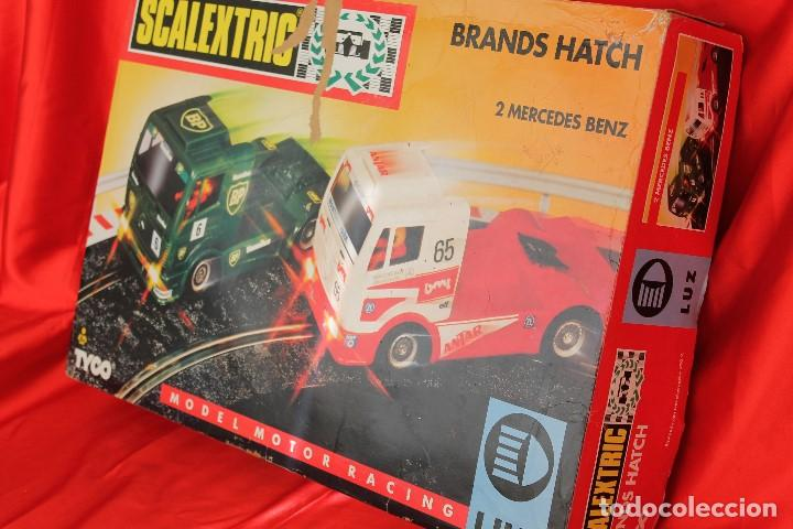 Scalextric: SCALEXTRIC TYCO CIRCUITO CAMIONES BRANDS HATCH - Foto 3 - 99641675