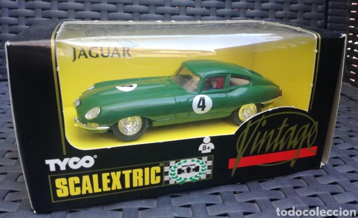 JAGUAR VINTAGE NUEVO EN CAJA A ESTRENAR SCALEXTRIC TYCO !! (Juguetes - Slot Cars - Scalextric Tyco)