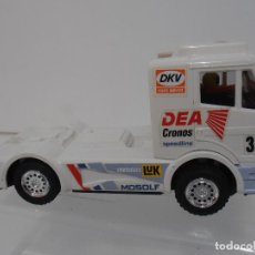 Scalextric: CAMION SCALEXTRIC TYCO, MERCEDES BLANCO, AÑOS 80 SCX. Lote 108727283