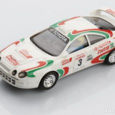 Scalextric: TOYOTA CÉLICA GT CASTROL SAN REMO #3 - REF. 83820. Lote 117192035