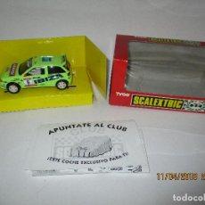 Scalextric: ANTIGUO SEAT IBIZA REPSOL REF. 8375.09 DE SCALEXTRIC TYCO A ESTRENAR. Lote 120462383