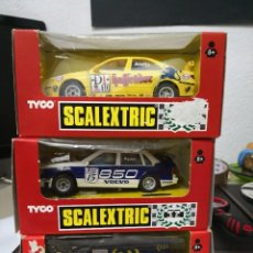 Scalextric: PACK DE 3 COCHES TYCO SCALEXTRIC . Lote 121243227