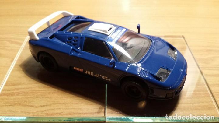 SLOT SCALEXTRIC TYCO BUGATTI EB110 LE MANS (Juguetes - Slot Cars - Scalextric Tyco)