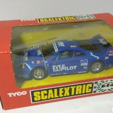 Scalextric: FERRARI F40 PILOT SCALEXTRIC TYCO REF. 8348.09. Lote 130872449