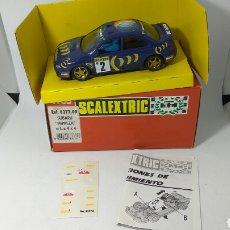Scalextric: SCALEXTRIC SUBARU IMPREZA 4*4 TYCO REF. 8377.09. Lote 146408958