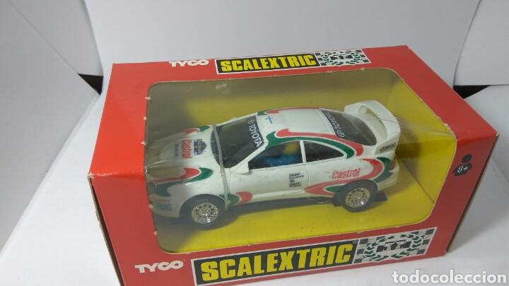TOYOTA CELICA CASTROL 96 SCALEXTRIC TYCO REF. 8393.09 (Juguetes - Slot Cars - Scalextric Tyco)