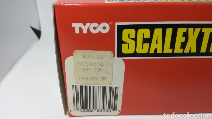 Scalextric: TOYOTA CELICA CASTROL 96 SCALEXTRIC TYCO REF. 8393.09 - Foto 2 - 130922288