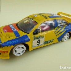 Scalextric: SEAT CORDOBA WRC.....COMPLETO, EXCEPTO NEUMATICOS.... Lote 132416914