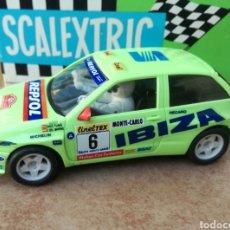 Scalextric: SEAT IBIZA KIT KAR REPSOL SCALEXTRIC SIN MOTOR. Lote 133832507
