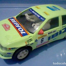 Scalextric: SEAT IBIZA KIT CAR SCX SCALEXTRIC VERDE RARO . Lote 138025498