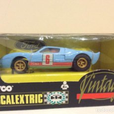 Scalextric: FORD GT 40 SCALEXTRIC TYCO VINTAGE. Lote 141439934