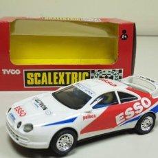 Scalextric: J4- TOYOTA CELICA GT ESSO SCALEXTRIC TYCO REF 8385 09 RARO. Lote 143381554