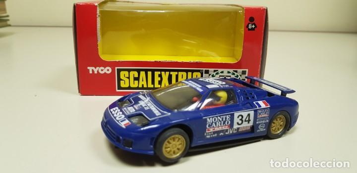 J4- BUGATTI EB-110 LE MANS SCALEXTRIC REF 8386.09 SLOT CAR (Juguetes - Slot Cars - Scalextric Tyco)