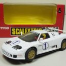 Scalextric: J4- BUGATTI EB-110 SUPERSPORT SCALEXTRIC REF 8387.09. Lote 152917441