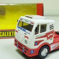 Scalextric: J- MERCEDES TRUCK ANTAR SCALEXTRIC REF 8365 SLOT CAR. Lote 144092266