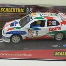 Scalextric: J- TOYOTA COROLLA MOVISTAR REF 6007 SCALEXTRIC SLOT CAR . Lote 144127338