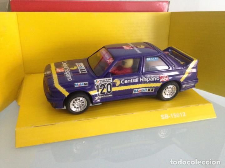 SLOT, SCALEXTRIC 8370, BMW M3-E30 Nº120, CENTRAL HISPANO 20, (Juguetes - Slot Cars - Scalextric Tyco)