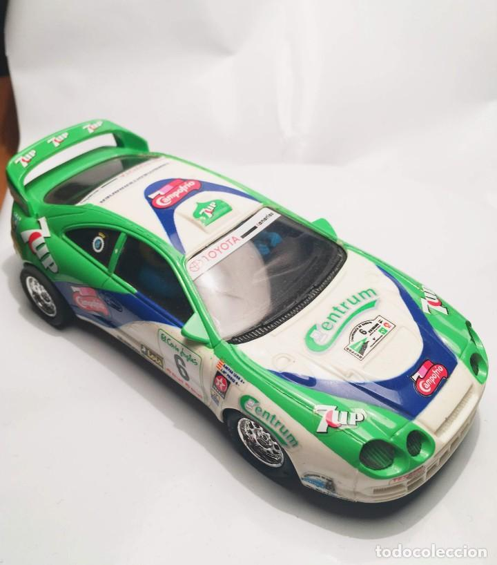 TOYOTA CELICA SEVEN UP REF:8356.09 (Juguetes - Slot Cars - Scalextric Tyco)