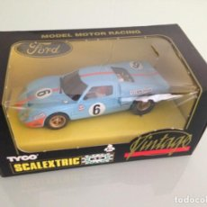 Scalextric: SLOT, SCALEXTRIC 8394.09, FORD GT 40 Nº 6, GULF, J.ICKX 1º LE MANS 1969, SCALEXTRIC VINTAGE, . Lote 158709046