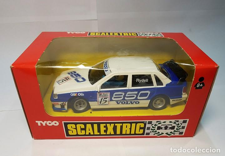 SCALEXTRIC EXIN VOLVO 850 BTCC RYDELL SRS-2 REF. 8391 DE 1996 TYCO NUEVO (Juguetes - Slot Cars - Scalextric Tyco)
