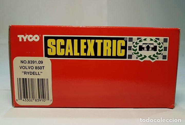 Scalextric: SCALEXTRIC EXIN VOLVO 850 BTCC RYDELL SRS-2 Ref. 8391 DE 1996 TYCO NUEVO - Foto 11 - 164602858